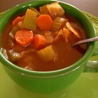 Cabbage Soup ~ Wholesome, Plant-Based, and Weight Watchers Friendly