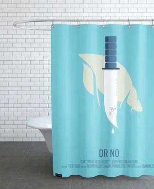trump flat swimmer shower curtain