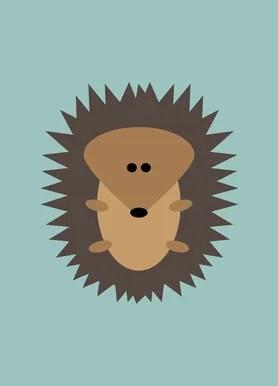 freddy the hedgehog shower curtain