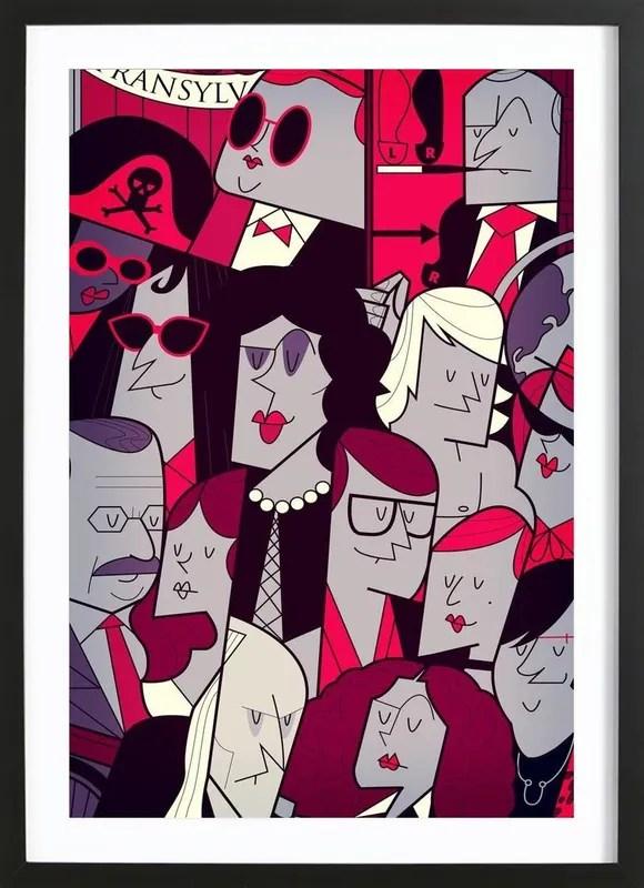 rocky horror picutre show poster