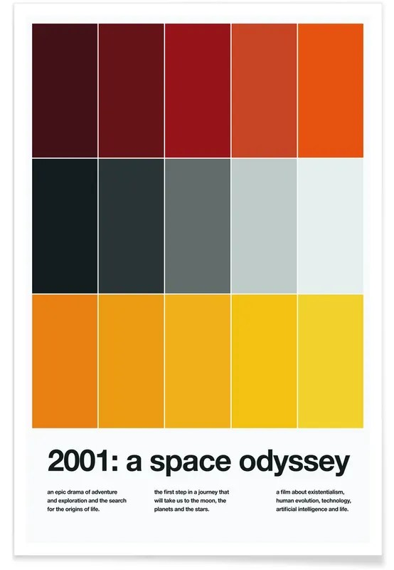 a space odyssey poster