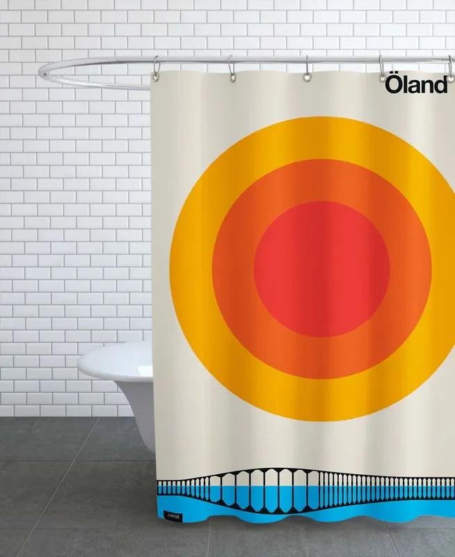 oland 72 shower curtain