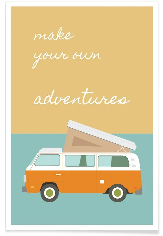 make your own adventures poster
