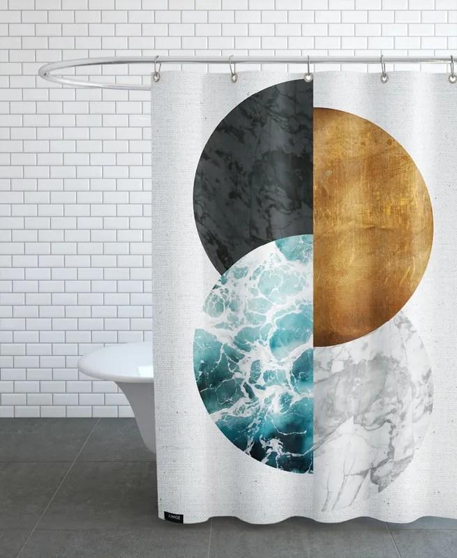 copper 02 shower curtain
