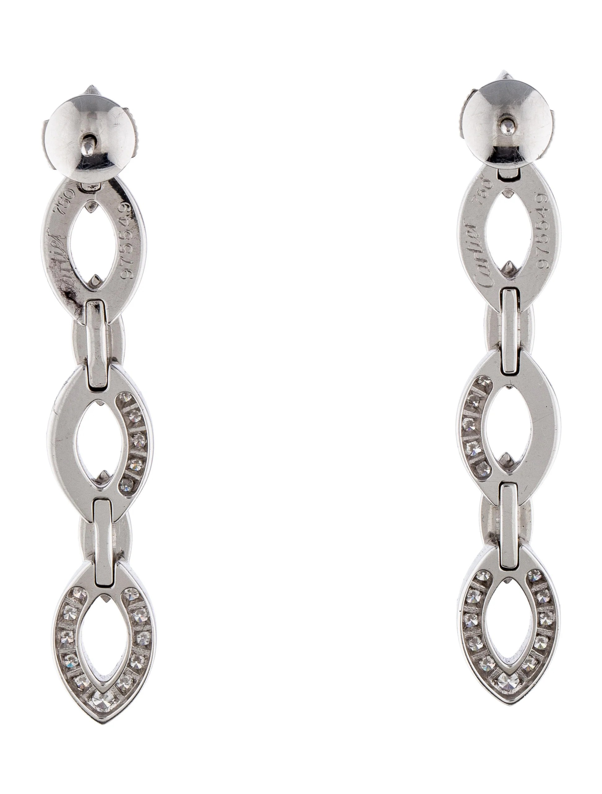 Cartier Daidea Drop Earrings
