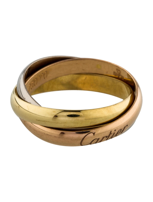 Cartier Small Trinity De Cartier Ring Rings CRT32200