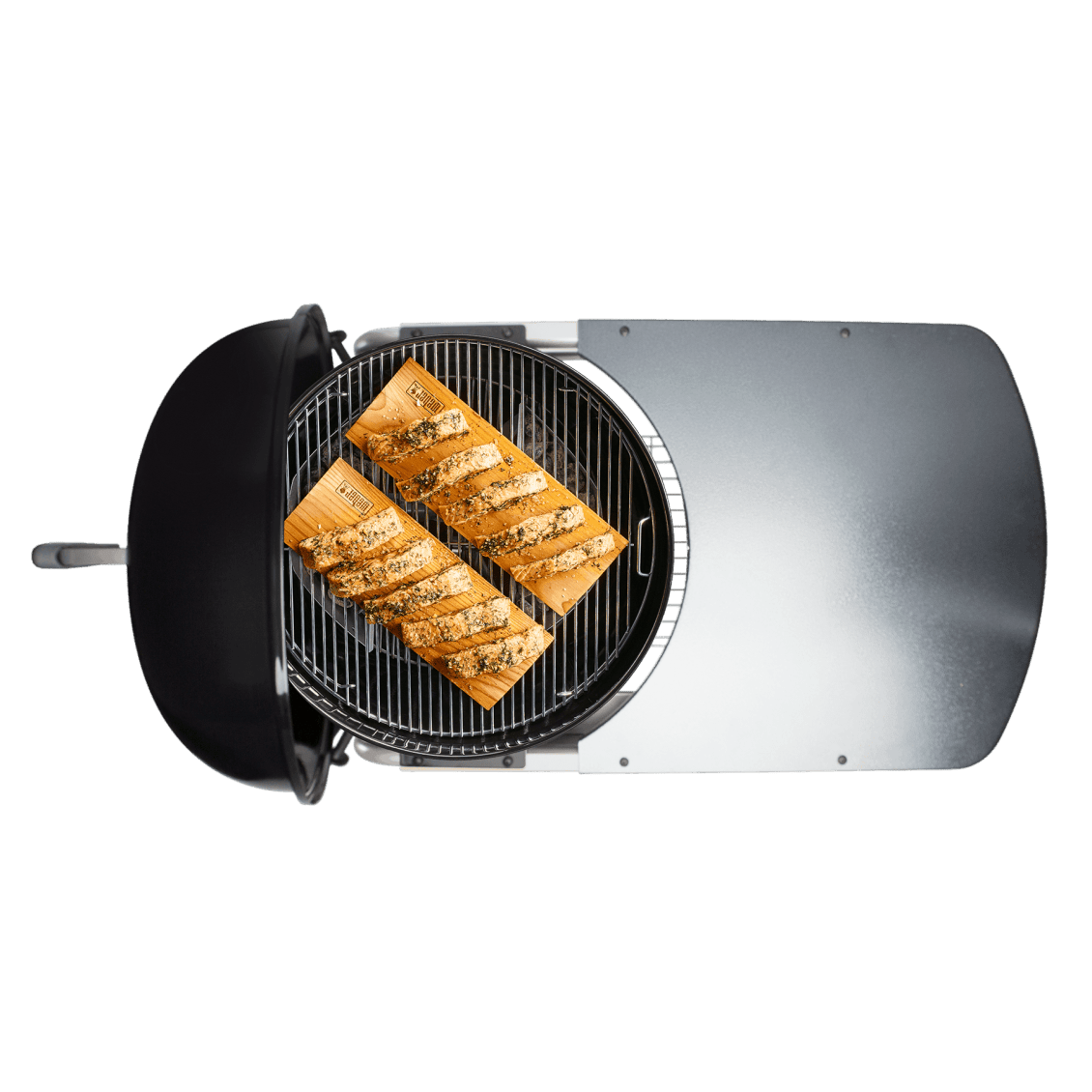 """Performer Premium Charcoal Grill 22"""" View"""