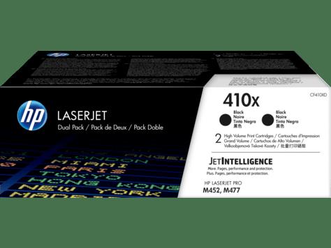 Hp 410x 2 Pack High Yield Black Original Laserjet Toner