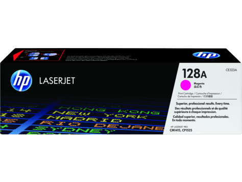Hp 128a Magenta Original Laserjet Toner Cartridge Ce323a