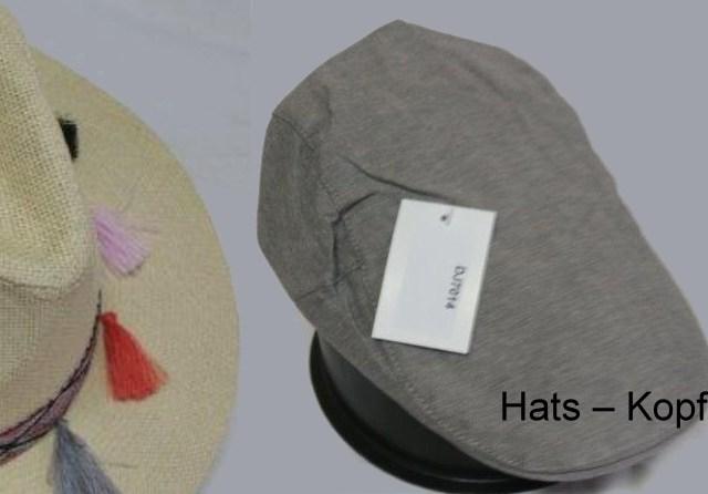 Hats – Kopfbedeckungen