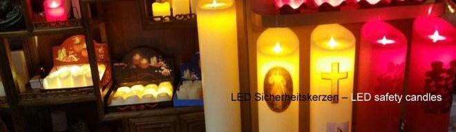 LED Sicherheitskerzen – LED safety candles