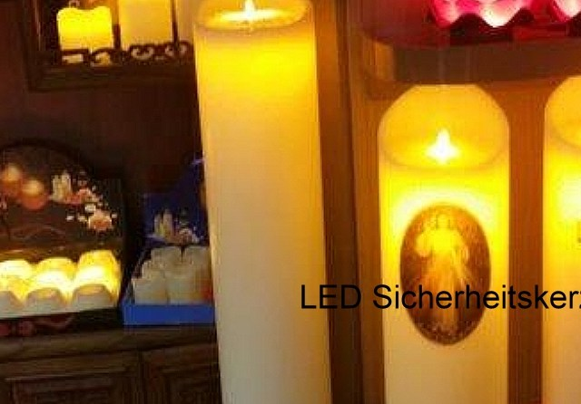 LED Sicherheitskerzen – LED safety candles