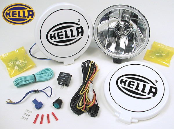 hella 500ff performance driving lamp kit includes a pair of lights