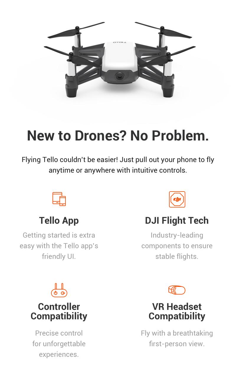 Nou la drona? Nici o problema