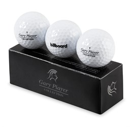 Gary Player Soft Feel Golf Balls (Set Of 3)