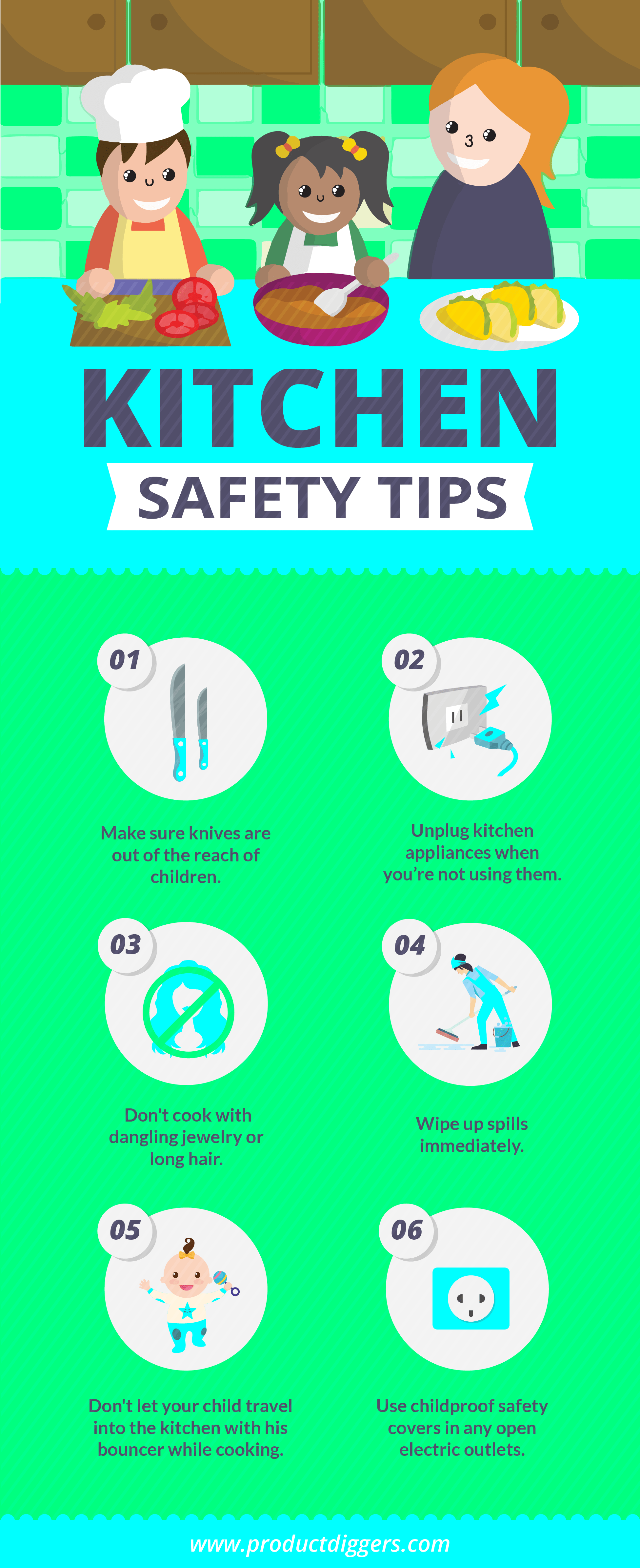 A Family Guide To Kitchen Safety
