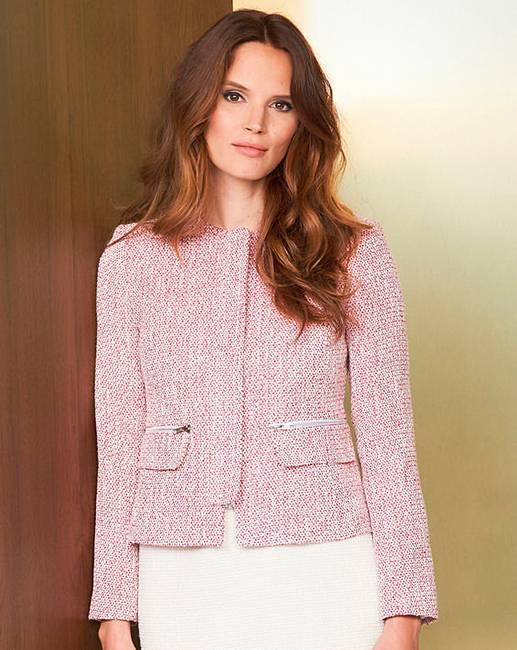 Helene Berman Zip Front Jacket Marisota