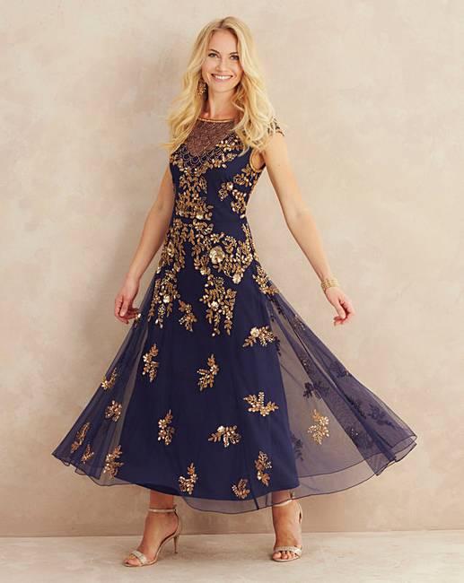 Joanna Hope Embellished Maxi Dress Marisota