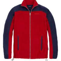 Southbay Southbay Unisex Fleece Jacket RED/NAVY