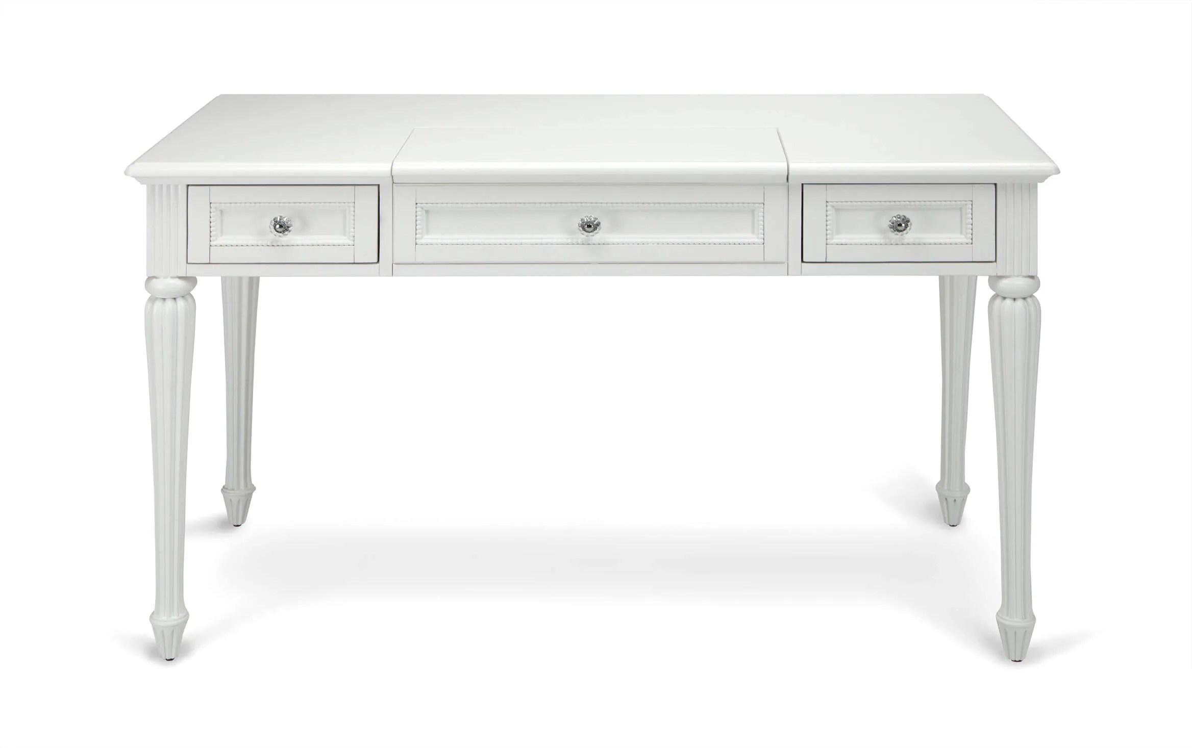 Madelyn White Vanity Desk Bobs Com