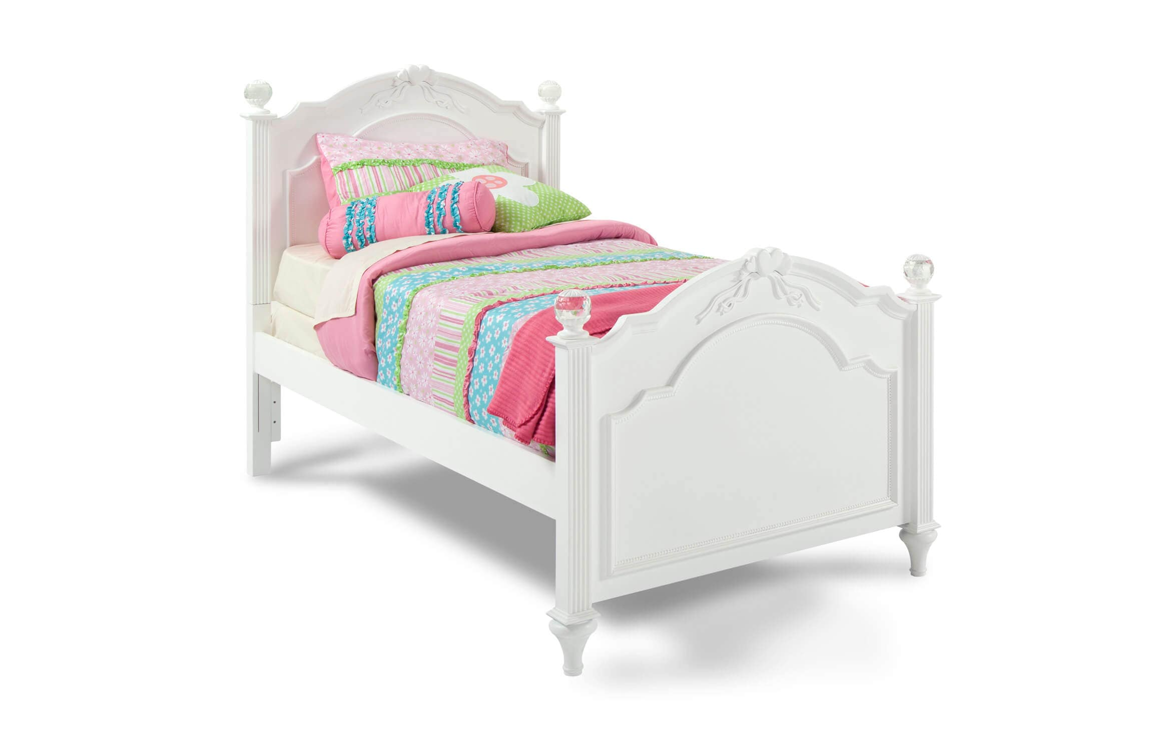 madelyn white twin bed