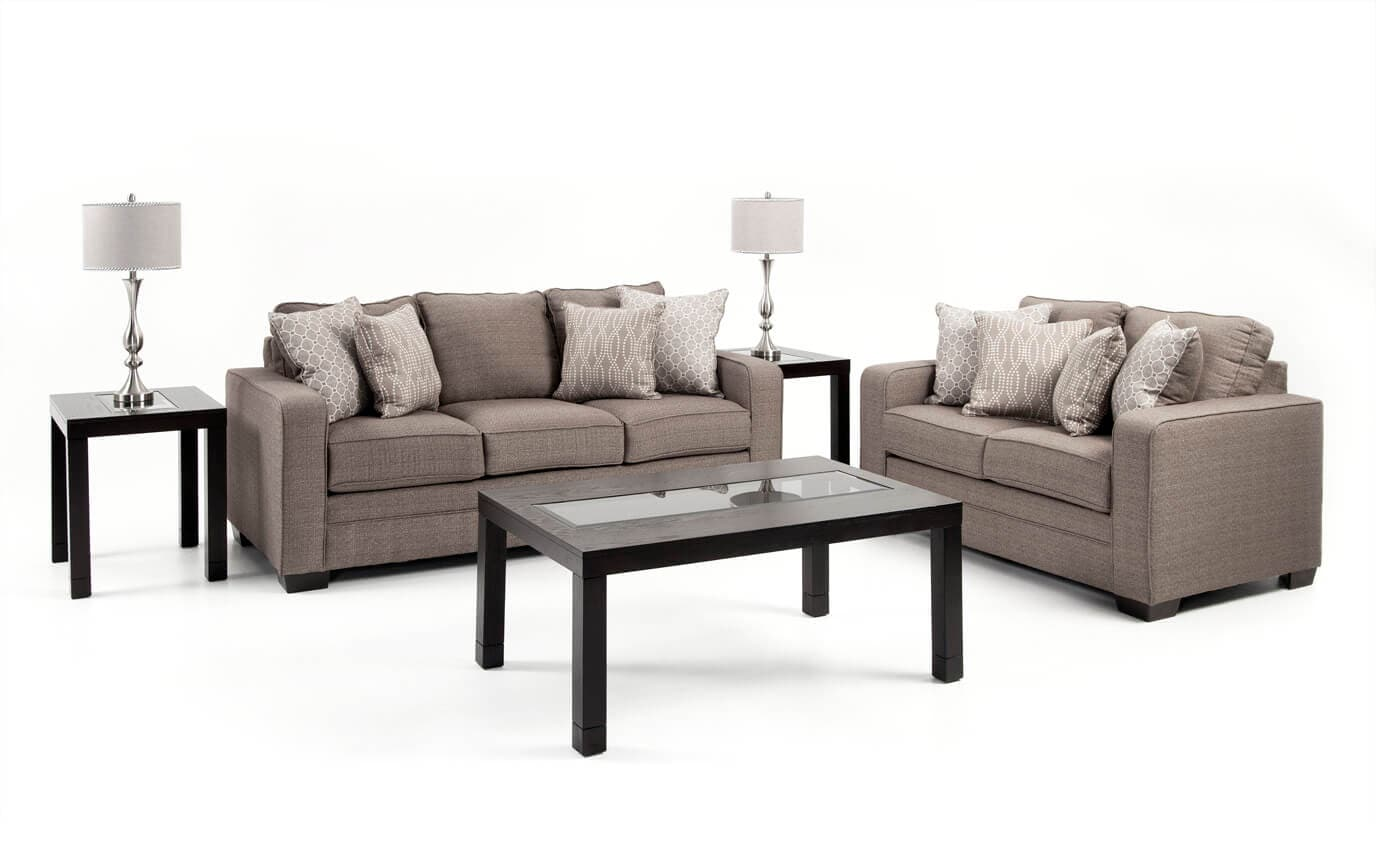 greyson seven piece living room set | bob's discount furniture