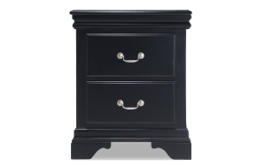 Louie Louie Black Nightstand