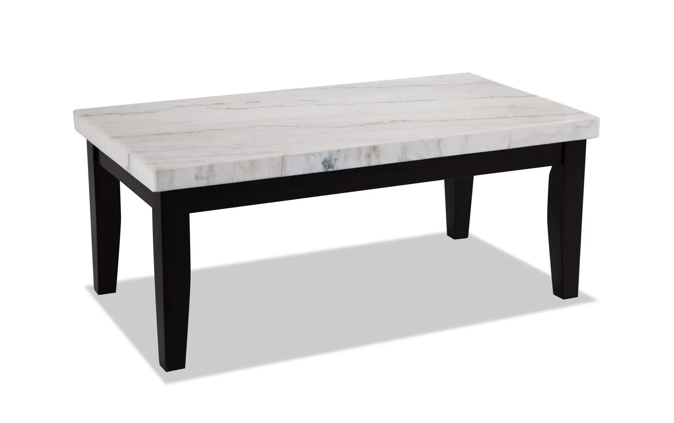 montibello white marble coffee table