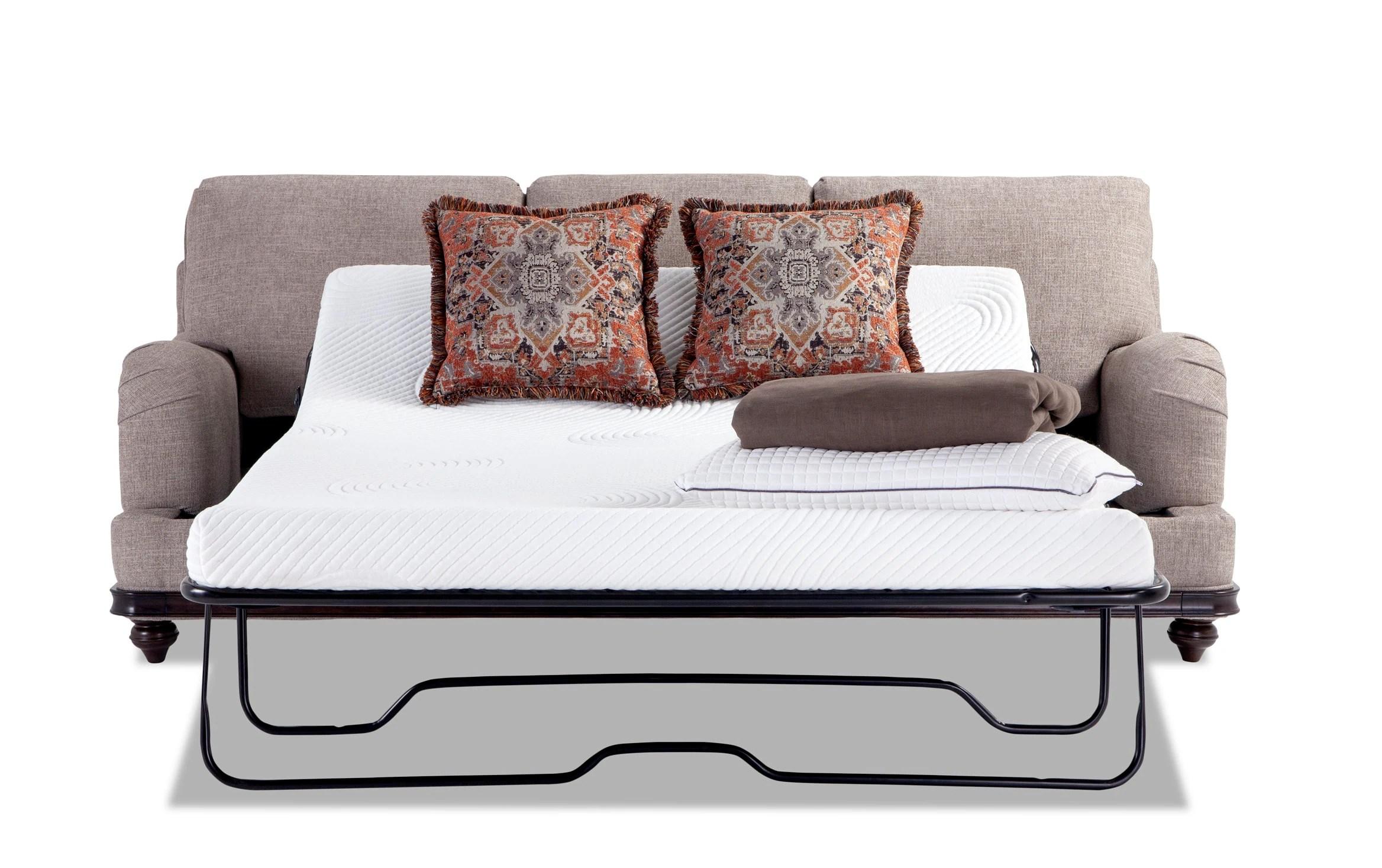 Cora Bob O Pedic Queen Sleeper Sofa Bobs Com
