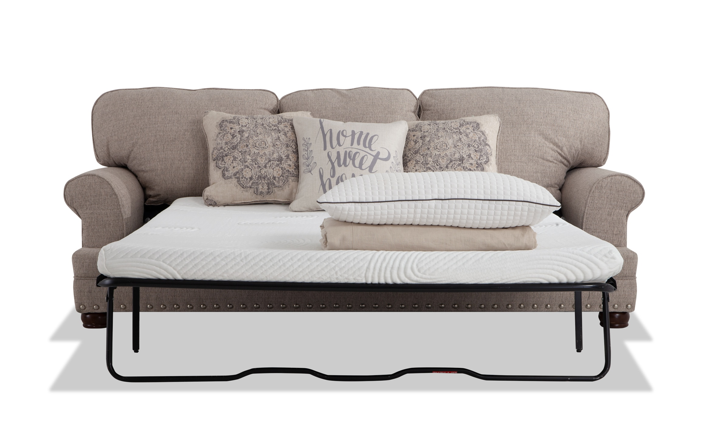 Charleston Bob O Pedic Queen Sleeper Sofa Bobs Com