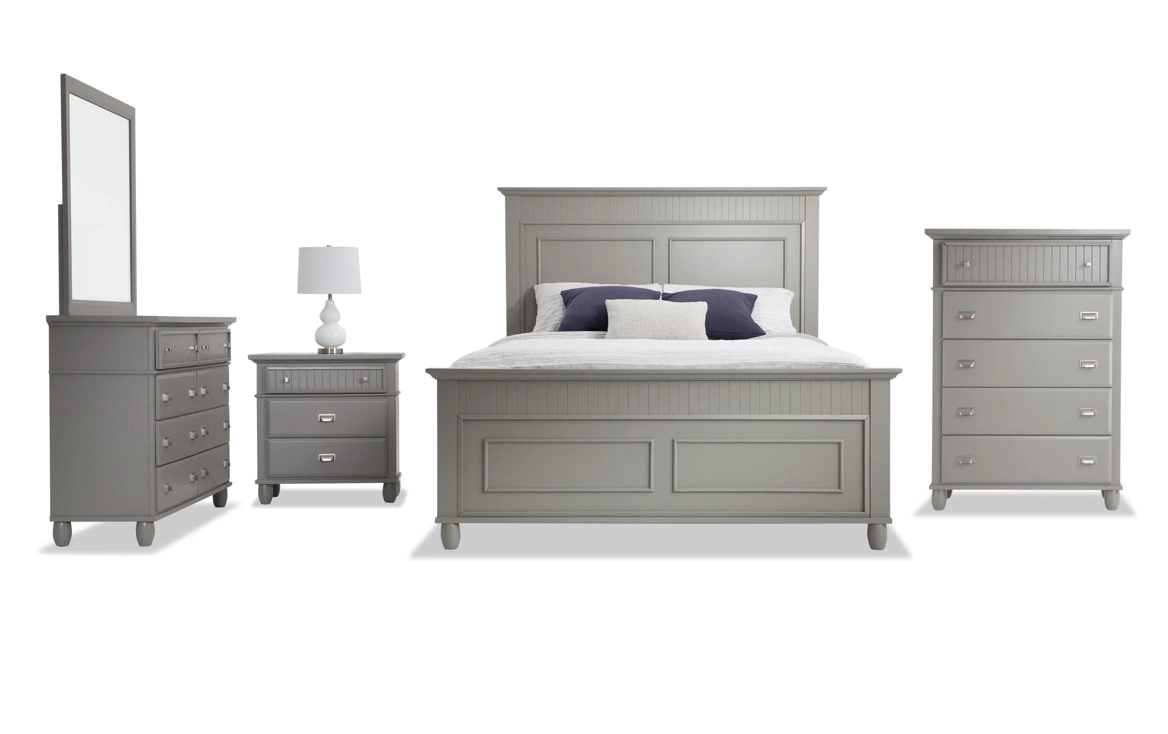 spencer queen gray bedroom set