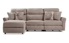 Charleston 3 Piece Right Arm Facing Power Reclining ... on Riley 3 Piece Sectional Charleston id=92696