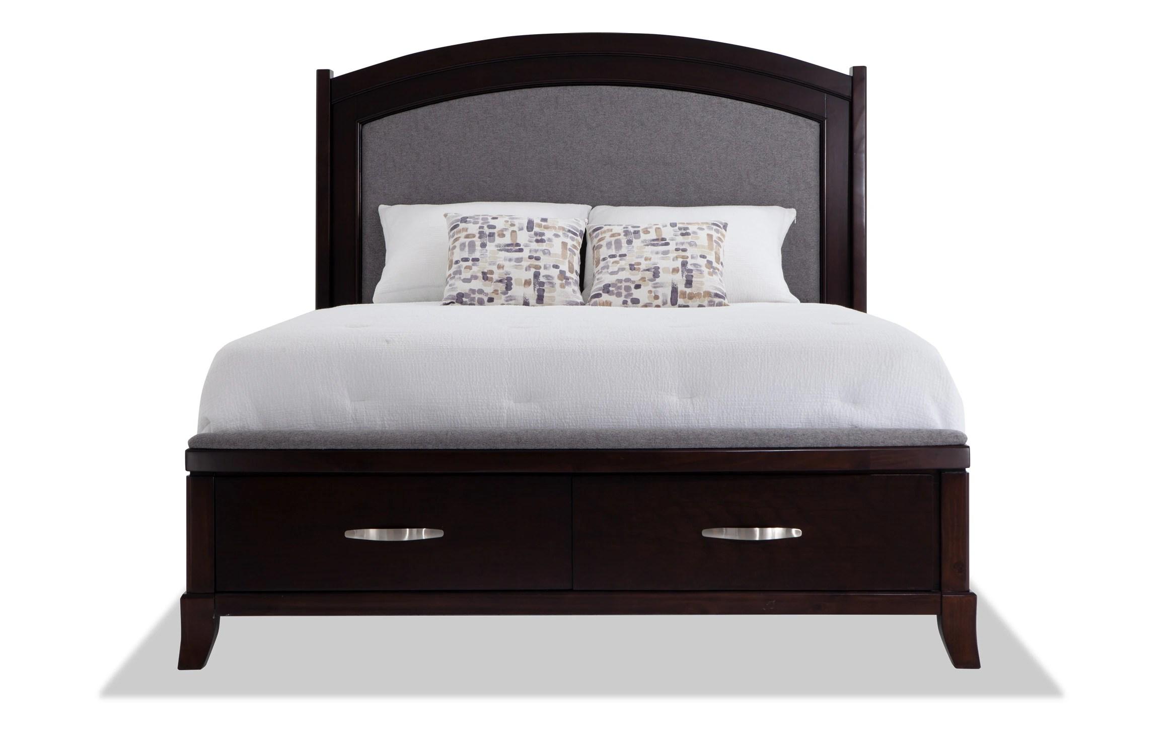 elevations queen storage bedroom set