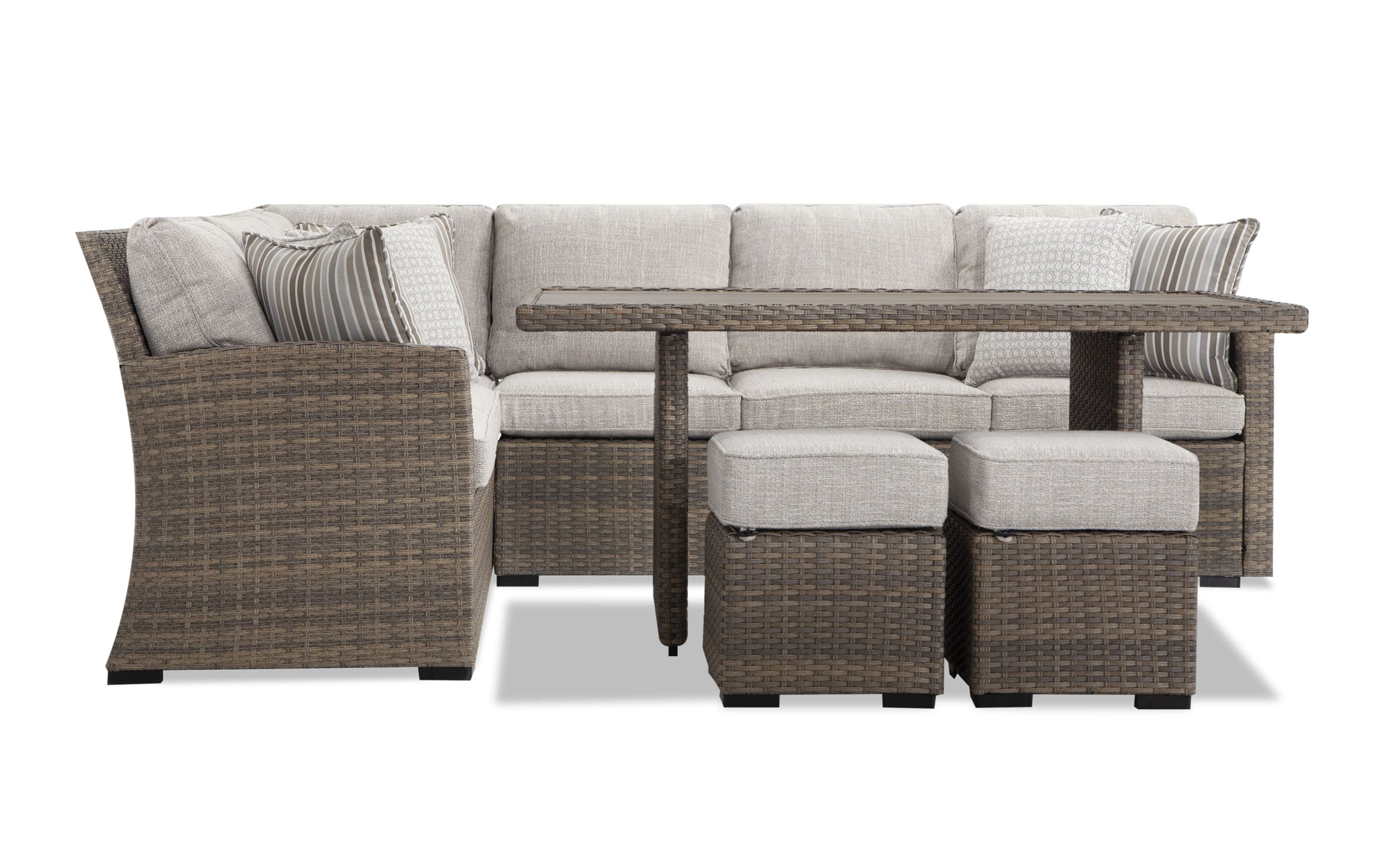 lennox 5 piece outdoor dining set with cover