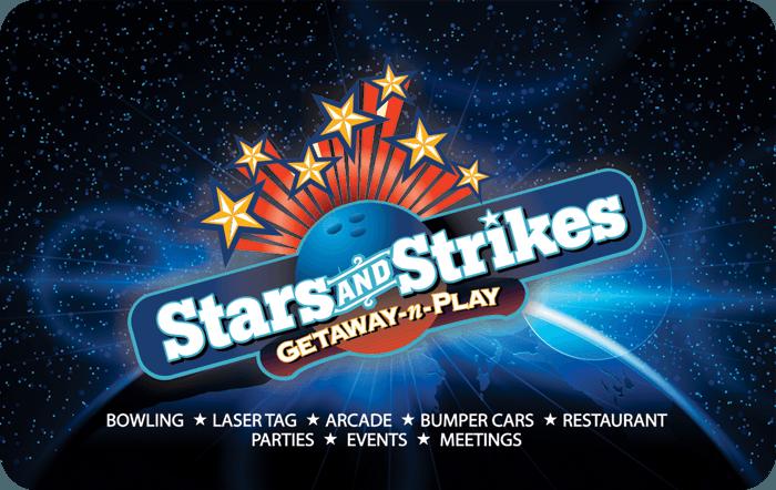 Stars And Strikes EGift Card