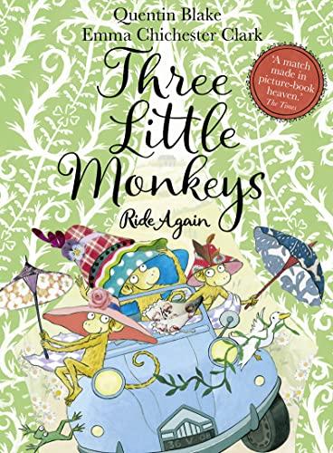 Three Little Monkeys Ride Again par Quentin Blake