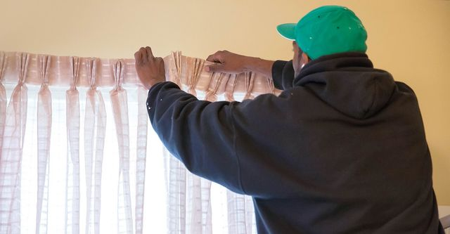 drapery and curtain installation