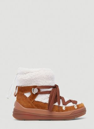Moncler Florine Boots in Brown