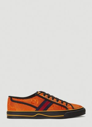 Gucci Eco-Nylon Tennis 1977 Sneakers in Orange