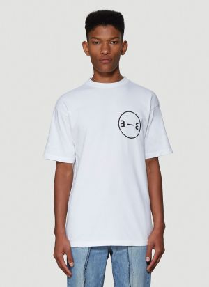 artica-arbox Graphic T-Shirt in White