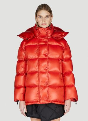 Moncler Macon Down Jacket in Orange