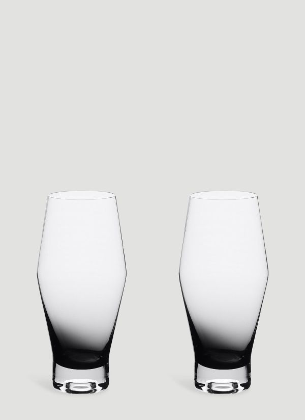 Tom Dixon Tank Set-of-Two Glasses in Black