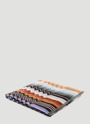 Missoni Home Giacomo Shower Towel in Green