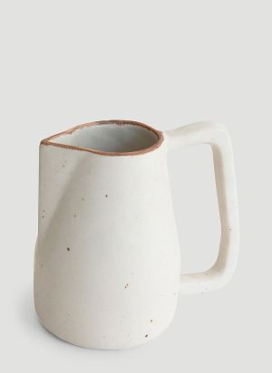 Syzygy Novah Large Pitcher in White