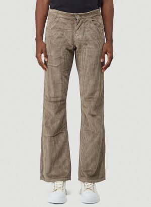 ERL Corduroy Pants in Brown
