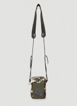 Moncler Extreme Crossbody Bag in Green