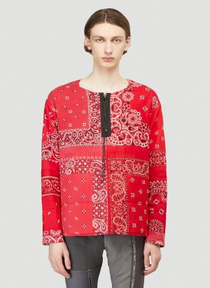 Children Of The Discordance Padded Bandana Jacket in Red