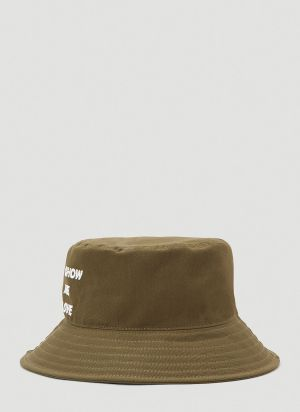 Honey Fucking Dijon Bucket Hat in Green