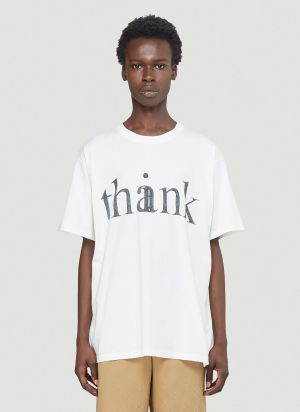 Gucci Think Thank T-Shirt in White