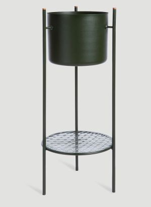 XLBoom Ent Medium Plant Stand in Green